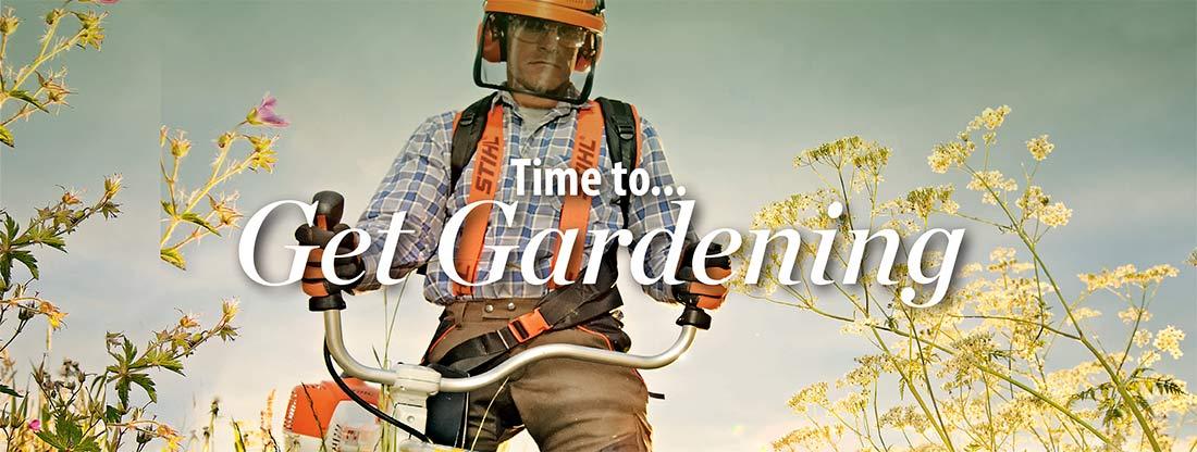 Time to get gardening at Coed y Dinas