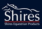 shires logo blue