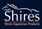 shires logo blue